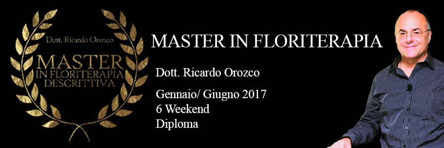 Master in Floriterapia Descrittiva. La Spezia